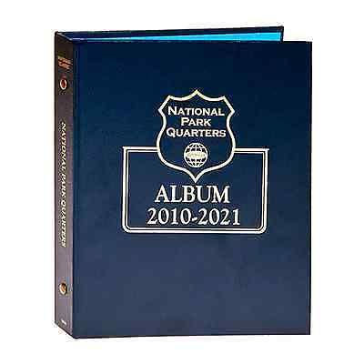 Whitman Classic Coin Album 3056 National Park Quarter Date Set 2010-2021 (Whitman Coin Albums Quarters)