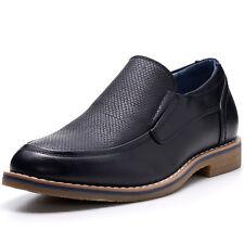 Alpine Swiss Carter Men's Slip On Loafers Snakeskin Dress Shoes Leather Lined