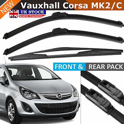 """Vauxhall Chevette Hatch 16/""""//16/"""" Bosch Superplus Front Wiper Blades"""