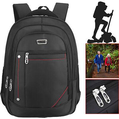 17 Inch Laptop Bag Notebook Computer Backpack Rucksack Shoulder Carry Case Black