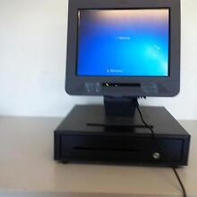 USED IBM POS UNIT WITH NEW PRINTER + DRAWER, S/WARE 3MNTHS G/TEE Lowood Somerset Area Preview