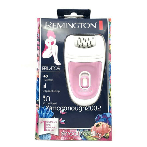 Remington Smooth & Silky Total Coverage Epilator, Electric T