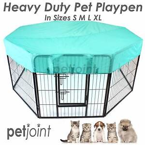 Heavy Duty Pet Dog Playpen Puppy Fence Kennel Run Enclosure Cage Campbellfield Hume Area Preview
