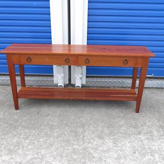 Stylish Casuarina/Sheoak Sofa Table