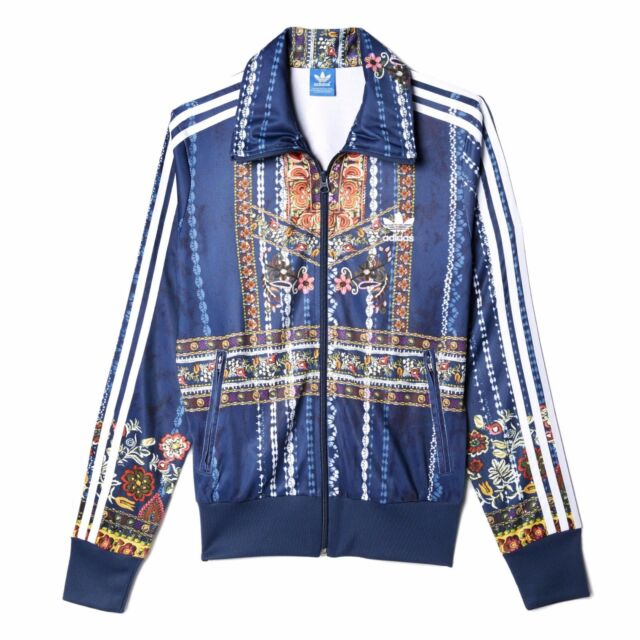 ADIDAS Originals FARM Women Cirandeira Floral Firebird Track Top Jacket XS S M L