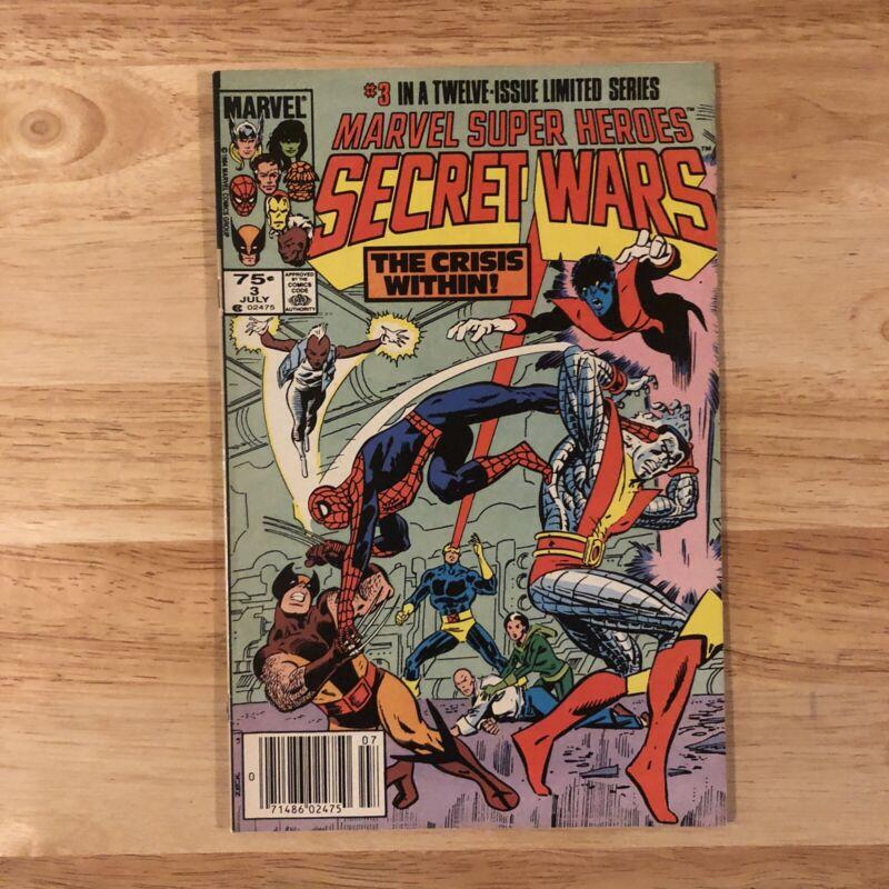 Marvel Super Heroes Secret Wars (1984) #3 1st Titania & Volcana Zeck Shooter VF
