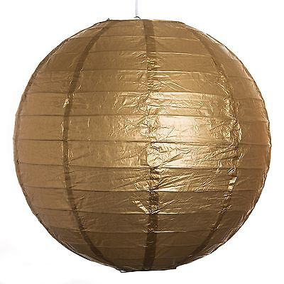 Gold Paper Party Wedding Lanterns - 12