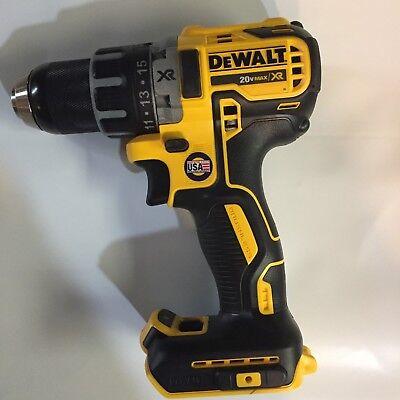 Usa Made Dewalt Dcd791b 20v Li-ion Xr 12 Cordless Drill Driver Bare Brushless