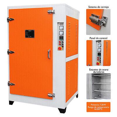 Máquina de Pintura en Polvo Electrostática para Curado 7,2KW Horno de Curado