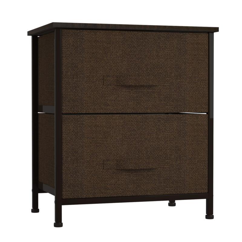 Chest Of Drawers Dresser 2 Drawer Discount Furniture Cabinet Bedroom Storage Us