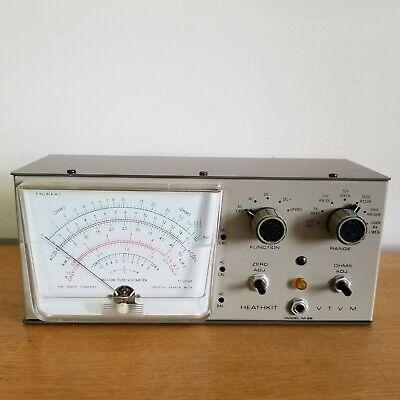 Very nice Heathkit  VTVM Vacuum Tube Volt Meter Model IM-28