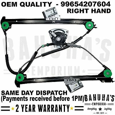 ALL PORSCHE 911BOXSTER 986 1997 2005 FRONT RIGHT SIDE ELECTRIC WINDOW REGULATOR