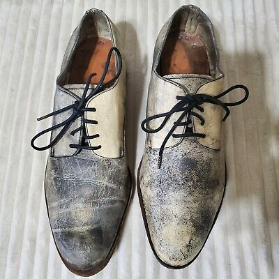 A1923 A diciannoveventitre Distressed Derby Shoes size 42