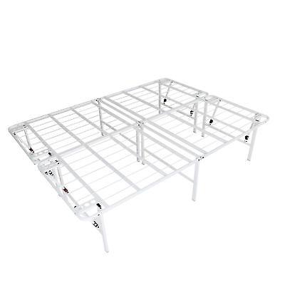 intelliBASE Lightweight Easy Set Up Bi Fold Platform White M