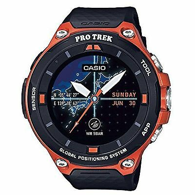 Casio ProTrek WSD-F20-RG Apt Outdoor Watch with GPS Android Wear 2.0 - Orange