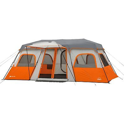 Ozark Trail 12 Person Instant Cabin Tent Family Integrated L