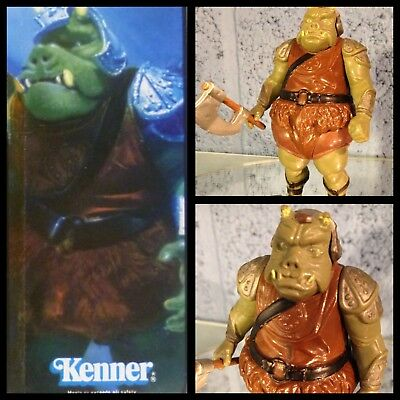 Star wars.figurine.Vintage.kenner.macao.Gamorrean Guard.1983.LFL.