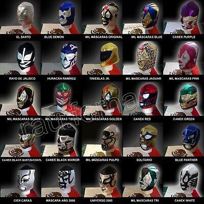 Wrestling mask Santo Blue Demon Tinieblas Canek Blue Panther Mascara Mil Mascara - Mascara Mask