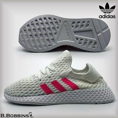 👟 Adidas Originals Deerupt Runner Girls Trainers Size UK 10 11 12 2 2.5 Kids