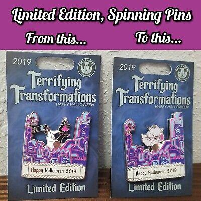 Disney LE Terrifying Transformations Pin Halloween Yzma Emperor's New Groove