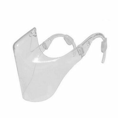 Mascarilla duradera Protección de visera facial Combine Plástico Transparente
