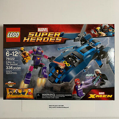 LEGO Marvel Super Heroes 76022 X-Men vs. The Sentinel New Sealed