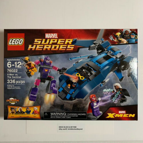 LEGO Marvel Super Heroes 76022 X-Men vs. The Sentinel New Sealed