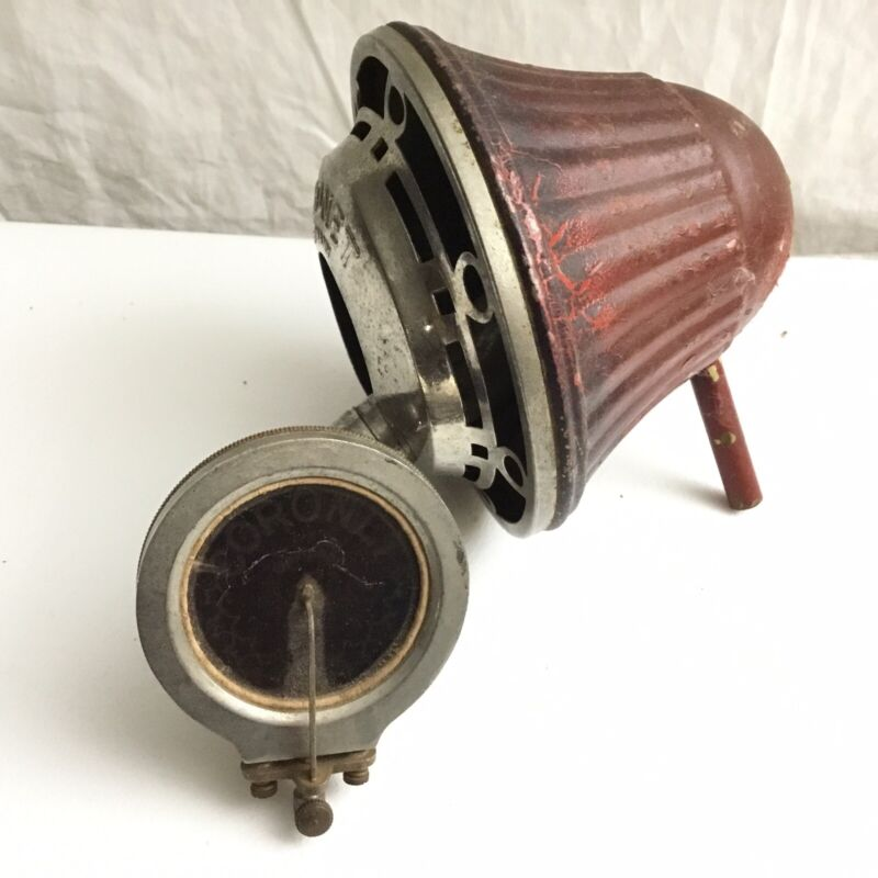 CORONET Phonograph horn and reproducer, similar to Nifty Nirona, Made in Germany