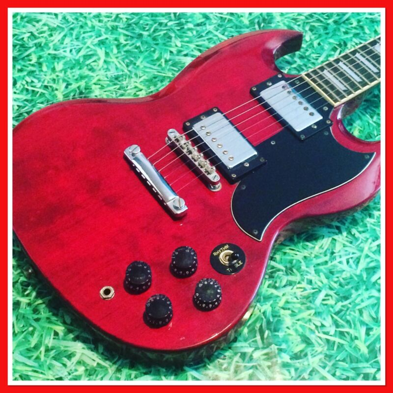 '94 EPIPHONE SG400 Cherry Red Guitar By Gibson - Plus EXTRAS!