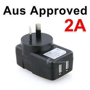 Dual USB Wall AC Charger Adapter for Apple iPhone 4s 5s 6 6s iPad Mini Air Pro