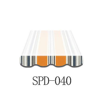 Volant Markisen Markisenbespannung Ersatzstoff Markise 4m Neu NUR VOLANT SPD040