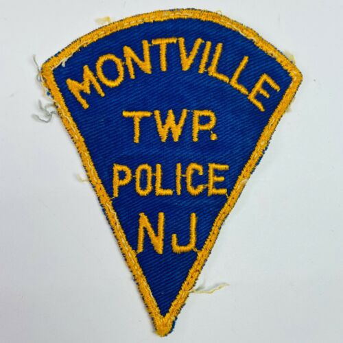 Montville Township Police Morris County New Jersey NJ Patch (B3)