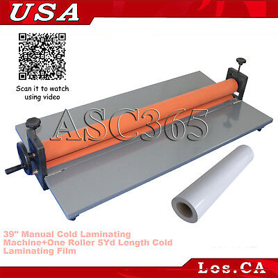 39 Manual Cold Laminating Machine Photo Laminator5yd Cold Laminating Film