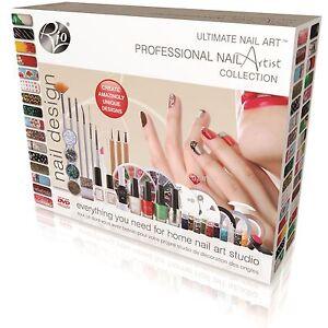 Rio Beauty Ultimate Nail Art: Professional Nail Artist Collection Xmas Gift Set
