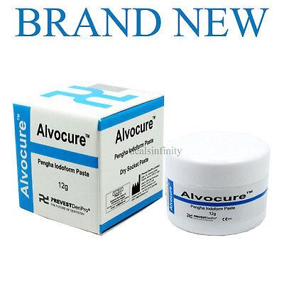 3 X Alvocure Dry Socket Paste 12gm Jar - Pengha Alveolar Alvogyl Dental Dressing