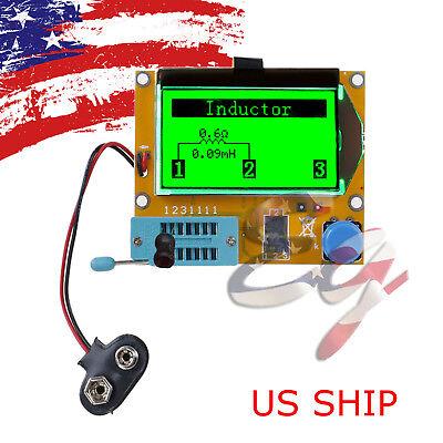 12864 Mega328 ESR Transistor Resistors Diode Capacitor Mosfet Inductance Tester
