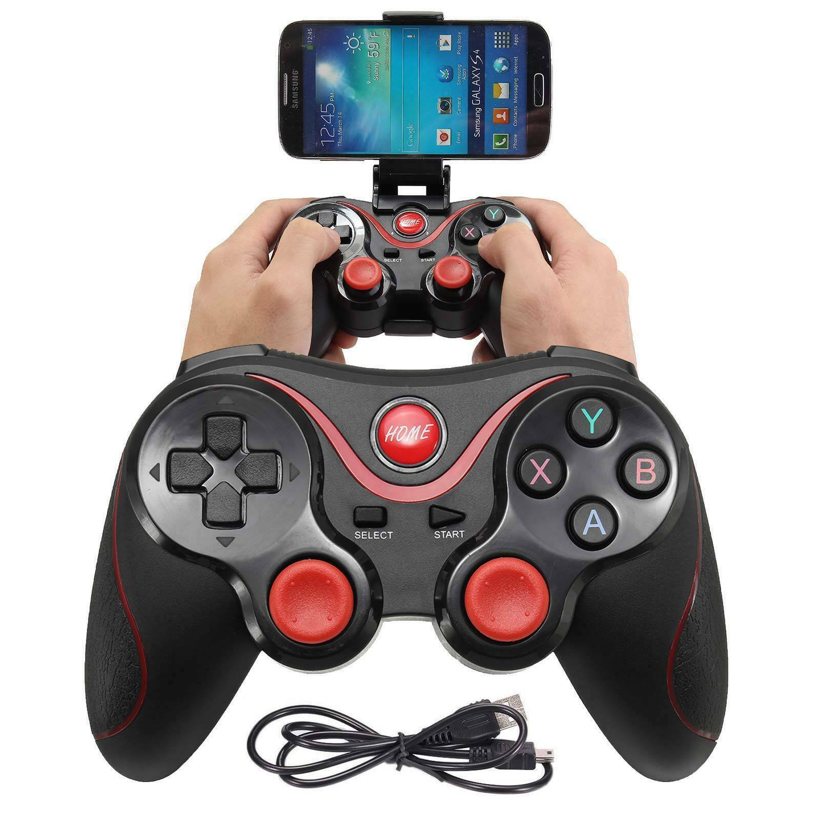 Phone Wireless Bluetooth GamePad Controller For Android TV Box Tablet Controllers & Attachments