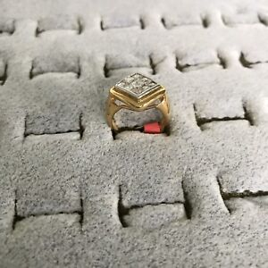 Costume Gold Ring - Size 6