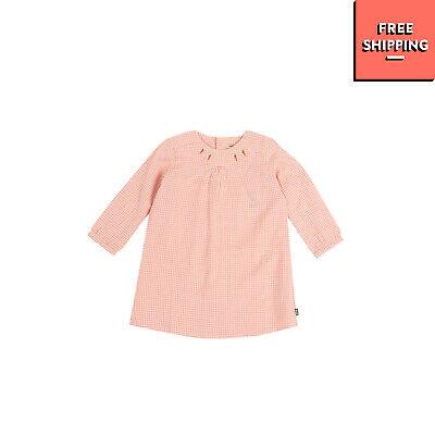 IMPS&ELFS Tunic Dress Size 12-18M / 80CM Gingham Pattern Button Back