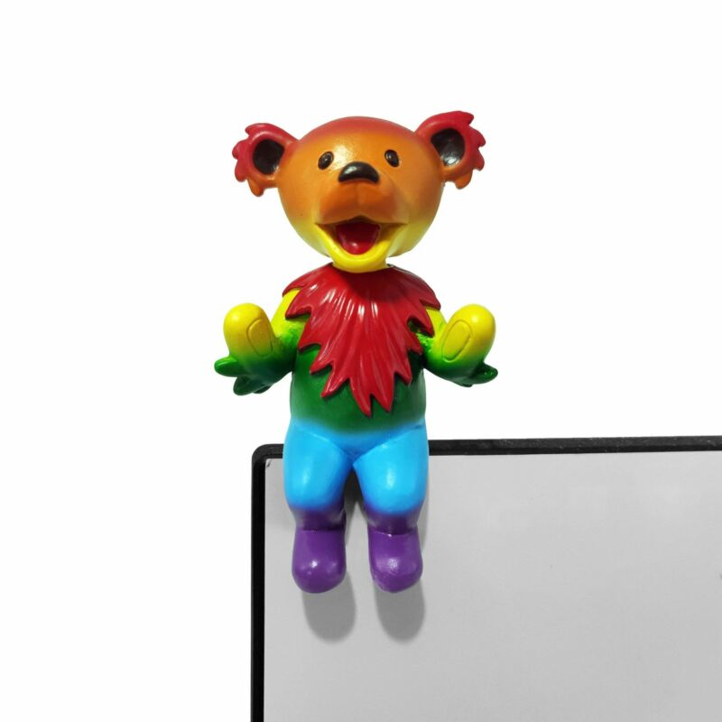 Grateful Dead Dancing Bear Buddy Bobblehead Rainbow Kollectico