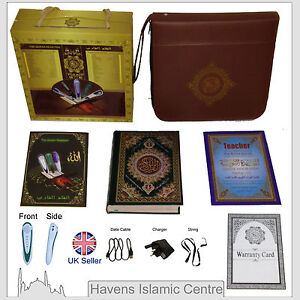 Muslim Digital Quran Book with reading pen and Translation in different Language