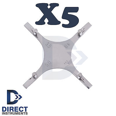 X5 Dental Star Gauge Orthodontic Bracket Boone Positioning Accurate Placement Ce