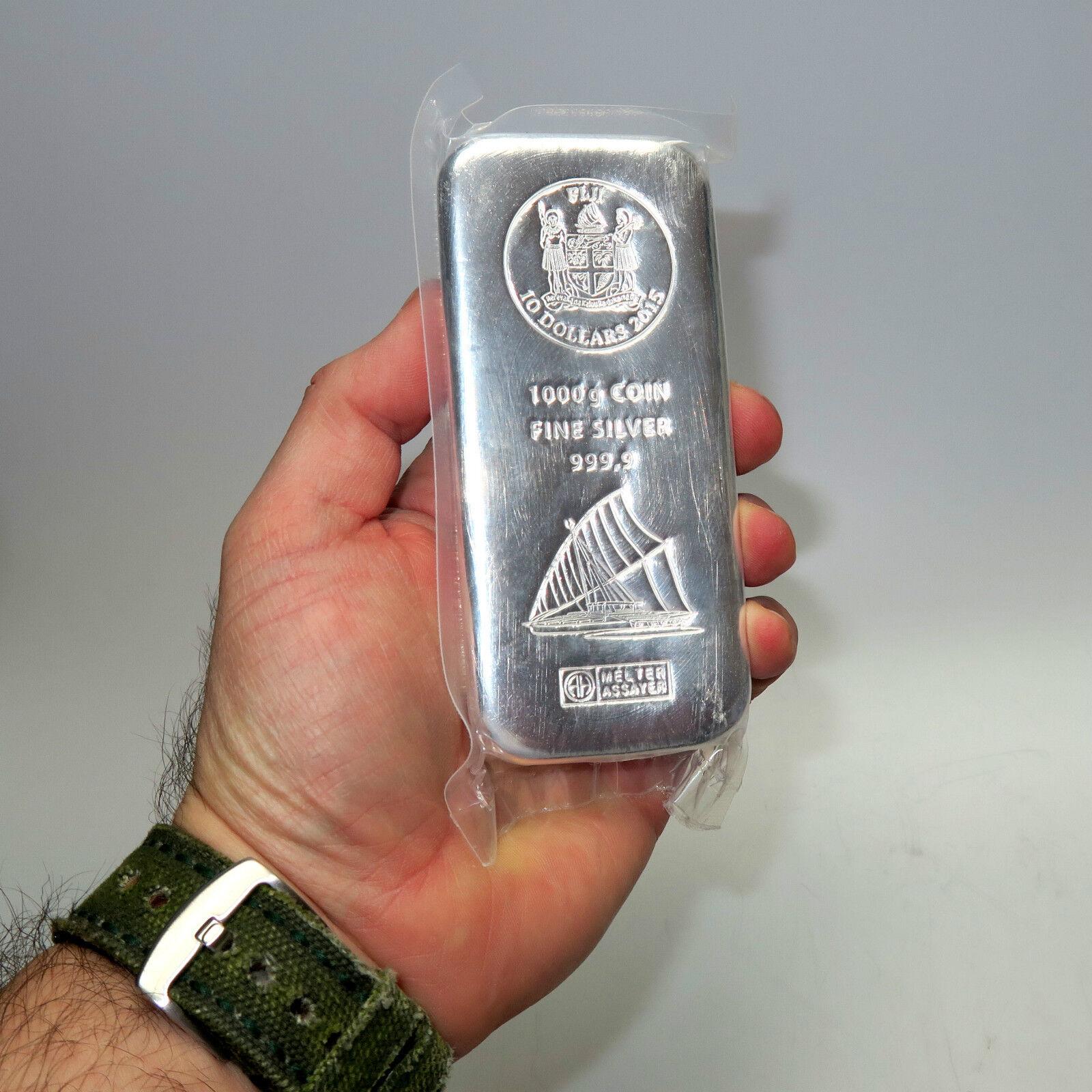 Fiji Argor Heraeus 1 Kg 999 Silberbarren M 252 Nzbarren 10