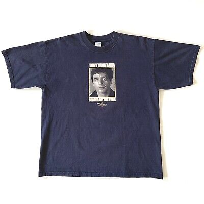 Vintage Scarface Tony Montana Dealer Of The Year T-Shirt By Palazzo Size XL