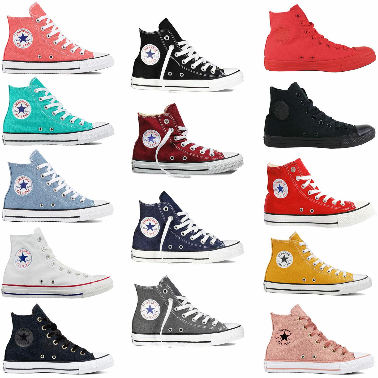 Converse Chuck Taylor All Star Hi Damen Sneaker Chucks Turnschuhe Hi Top Schuhe