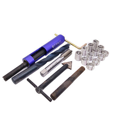 Us Stock Thread Repair Kit M14 X 1.5 Drill Tap Extraction Removal Tool 12 Insert