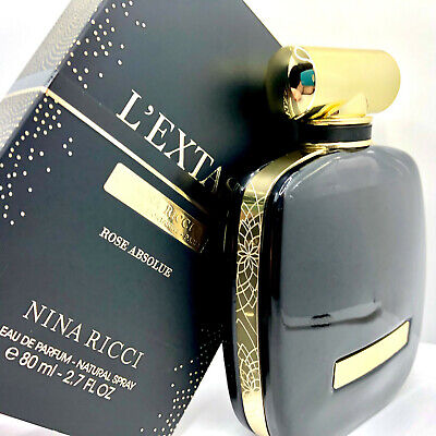 *SEALED BOX* Nina Ricci L'Extase ROSE ABSOLUE 80ml / 2.7oz Eau De Parfum RARE