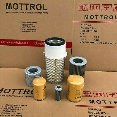 Fits For Komatsu Pc60-7 4d102 Engine Filter Air Fuel Oil Hydraulic Service