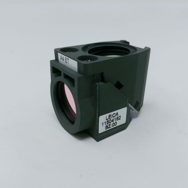 Leica Microscope Fluorescence Filter Cube 11504162 A4 ET