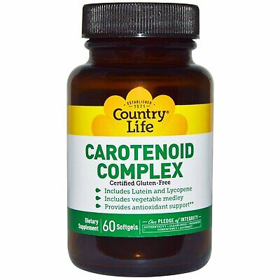 Country Life Carotenoid Complex, 60-Count